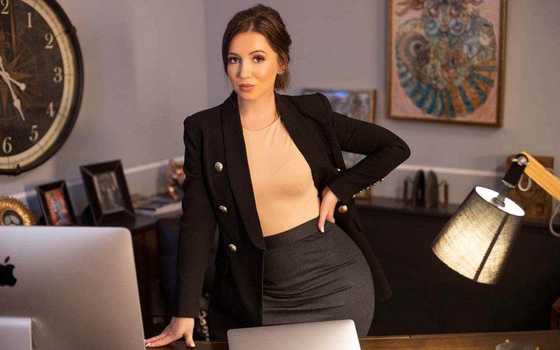 Эльвира Гаврилова – главред ж-ла Fostylen, продюсер, СЕО в Европе рекламной компании Амиллидиус