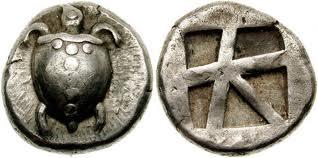 История об древних монет орел ру