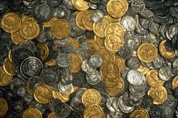 Монеты из хокснинского клада. Хоксни, Саффолк, V