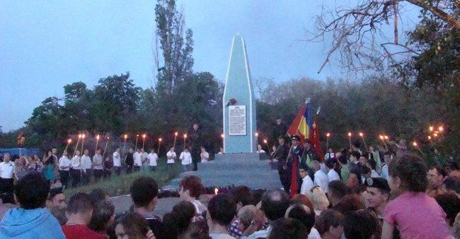 днепр празднует 74 годовщину освобождения