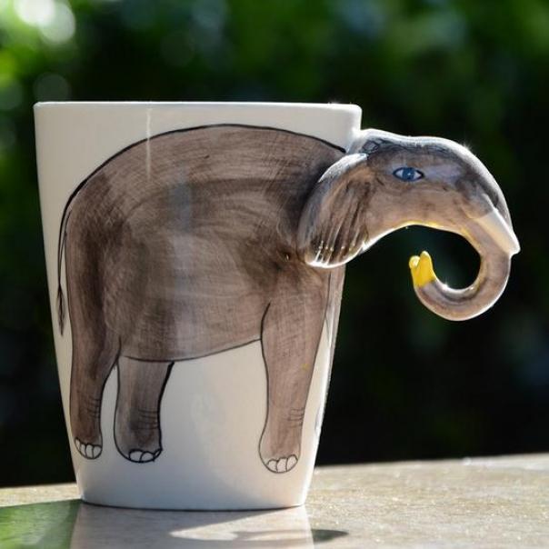 кофе из слона