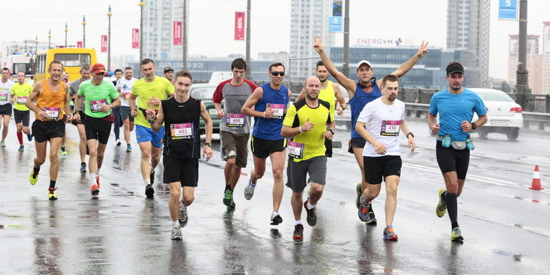 марафон в киеве погибший
