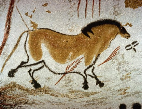 Рисунок в пещере Ласко