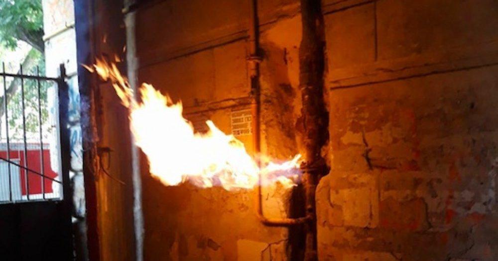 пожар в доме жаботинского