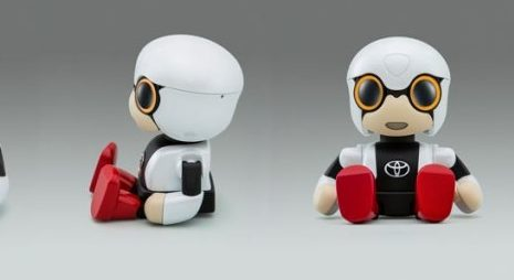 Робот помощник от Toyota его можно взять в путешествие