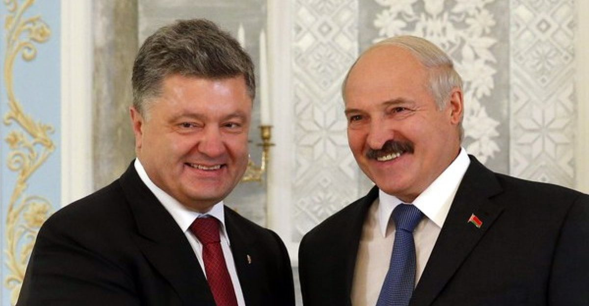 президент украины встрелился с президентом белоруссии в оаэ