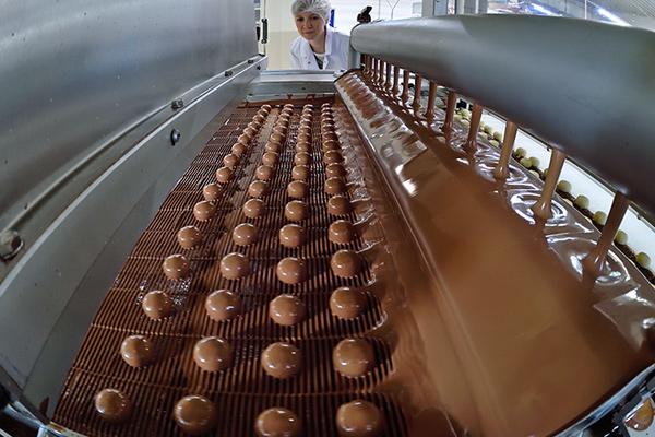 экспорт импорт шоколада