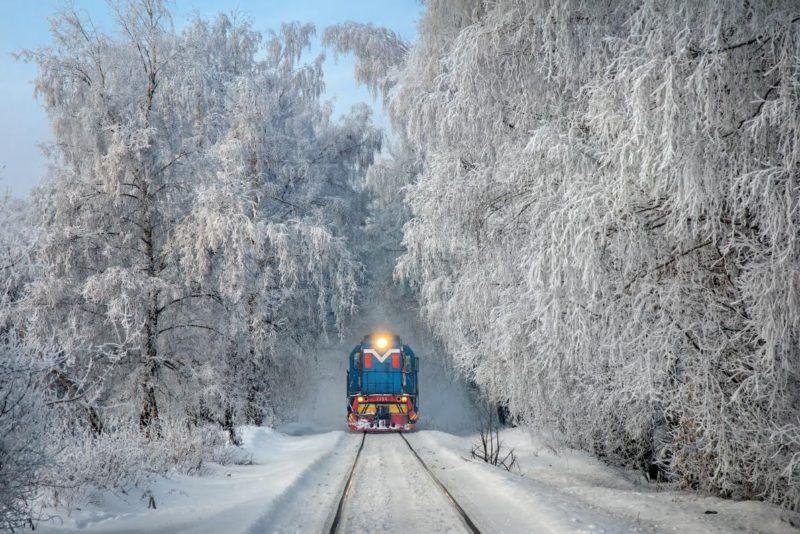 поезда на новый год и рождество
