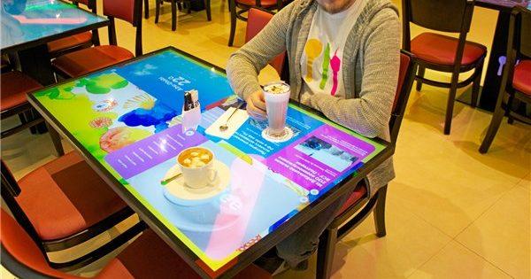 сенсорные столы для ресторанов
