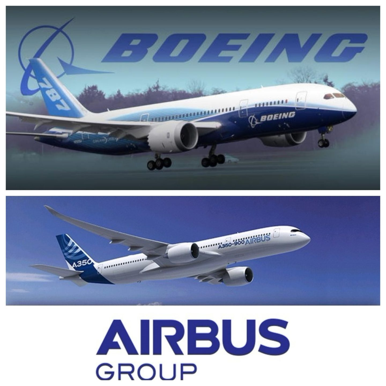 Boeing и Airbus