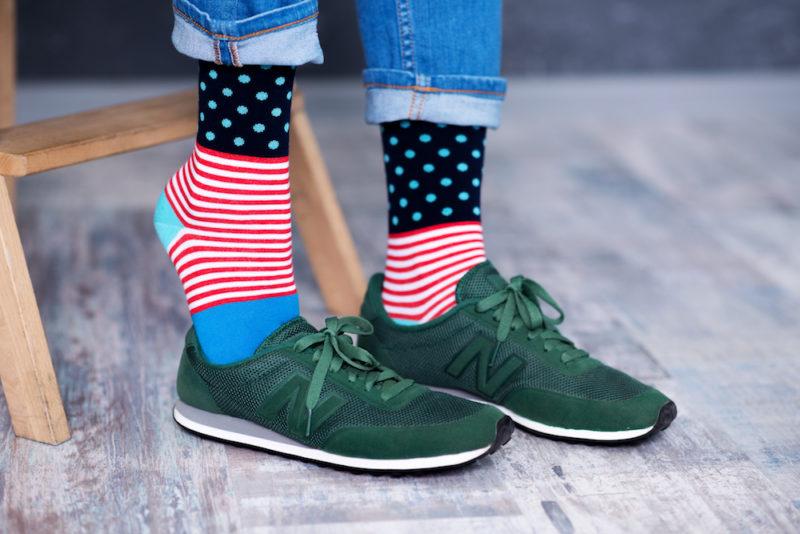 пестрые носки