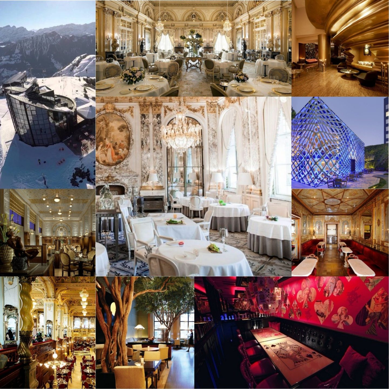 Самые красивые рестораны в мире