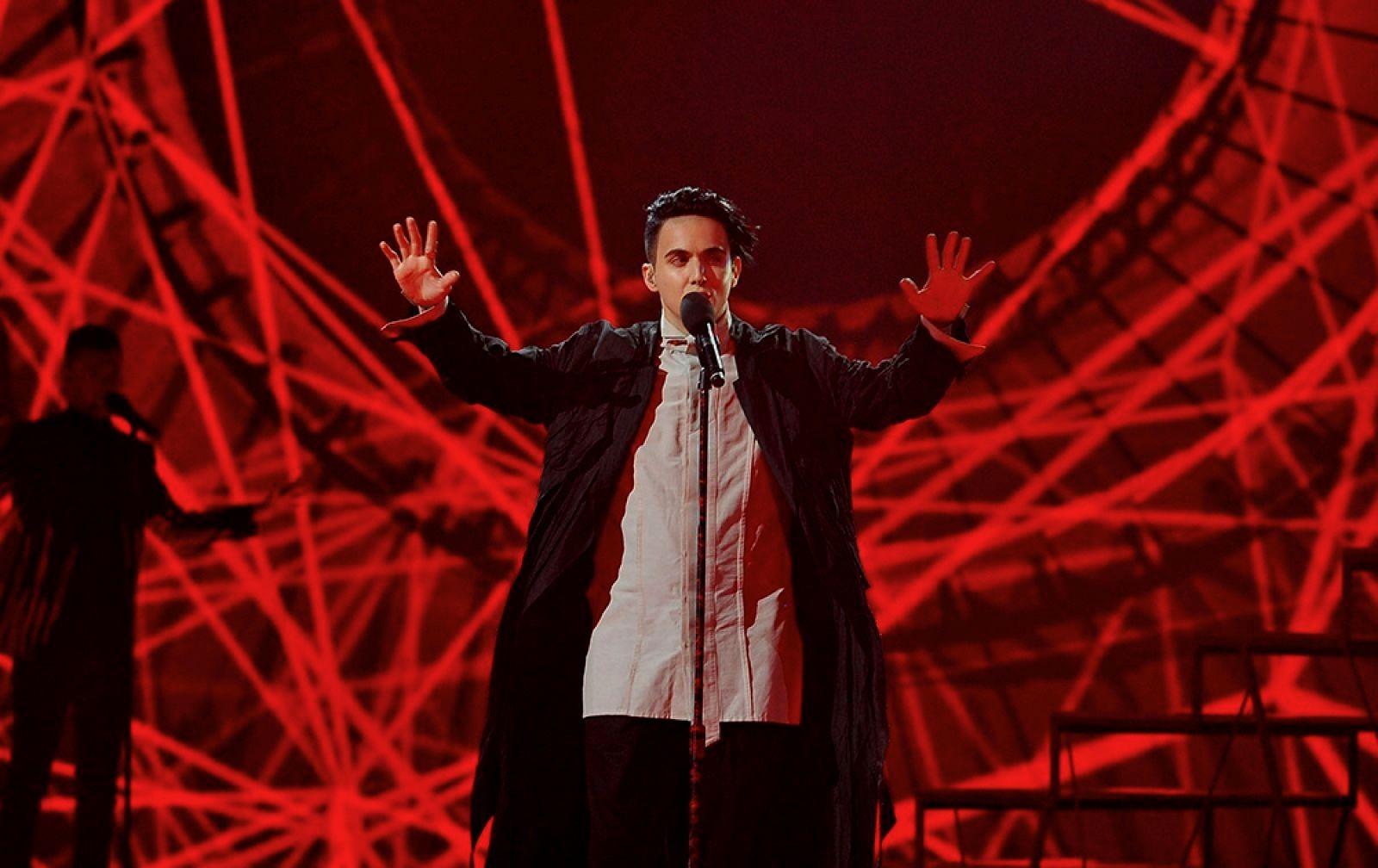 Melovin снял видео для «Евровидения» вПортугалии