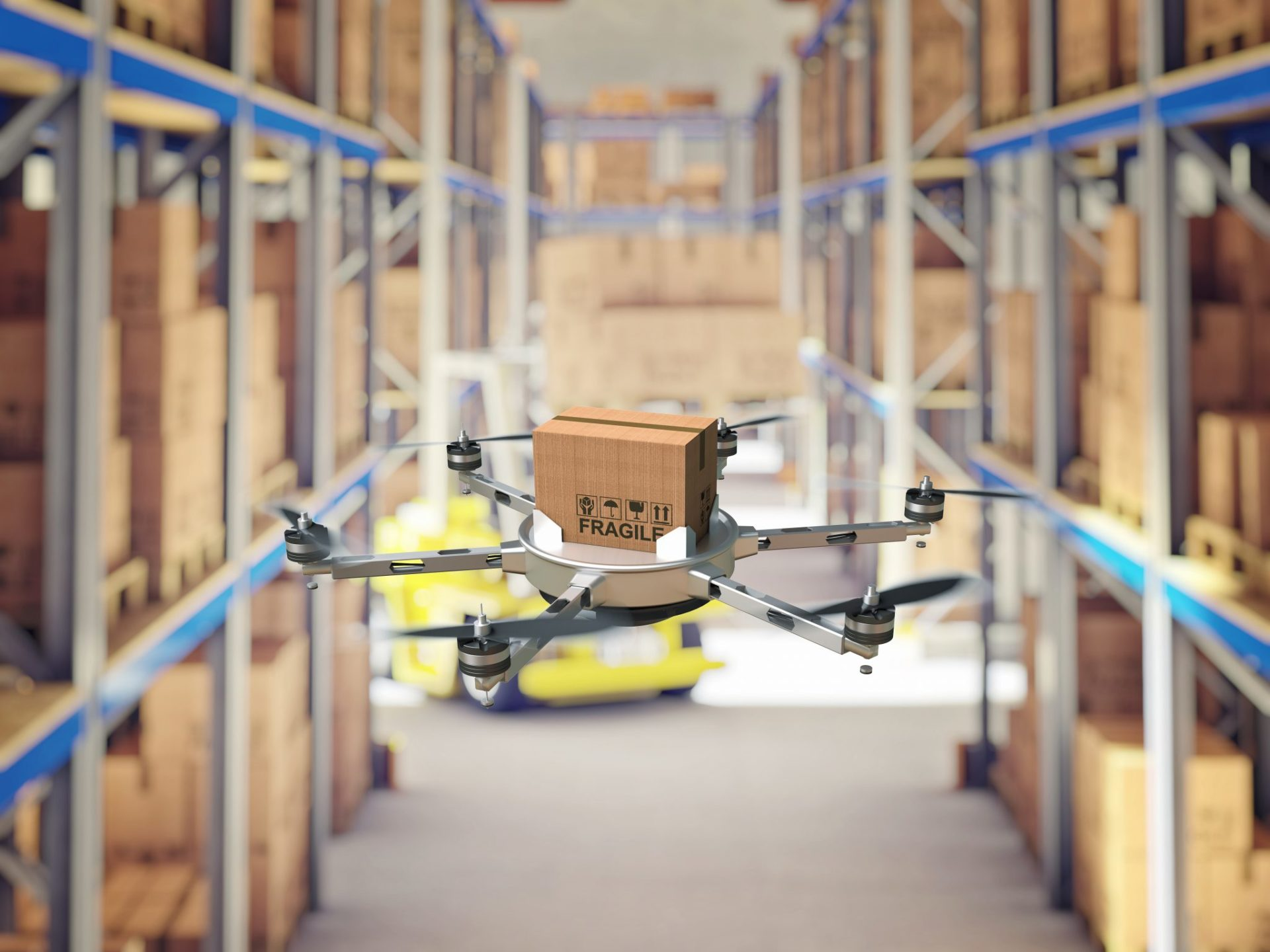 Роботизация: продавцов-консультантов Walmart заменят дронами