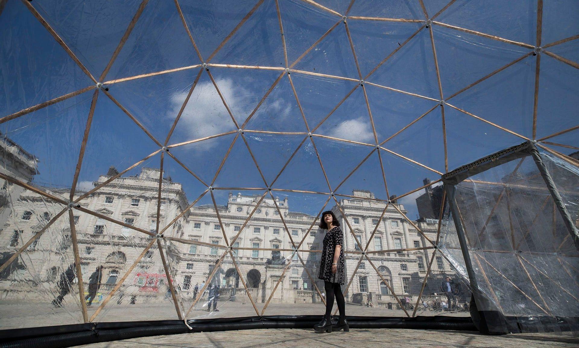 Атмосфера городов под куполом от Таура до Сан-Паулу