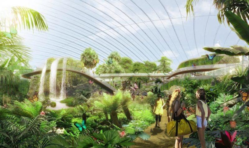 Tropicalia: Тропический лес на севере Франции