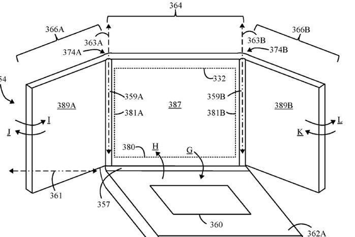 трехэкранный ноутбук Lenovo