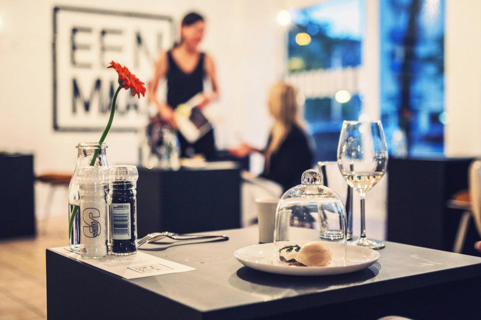 Ресторан для одиночек Eenmaal