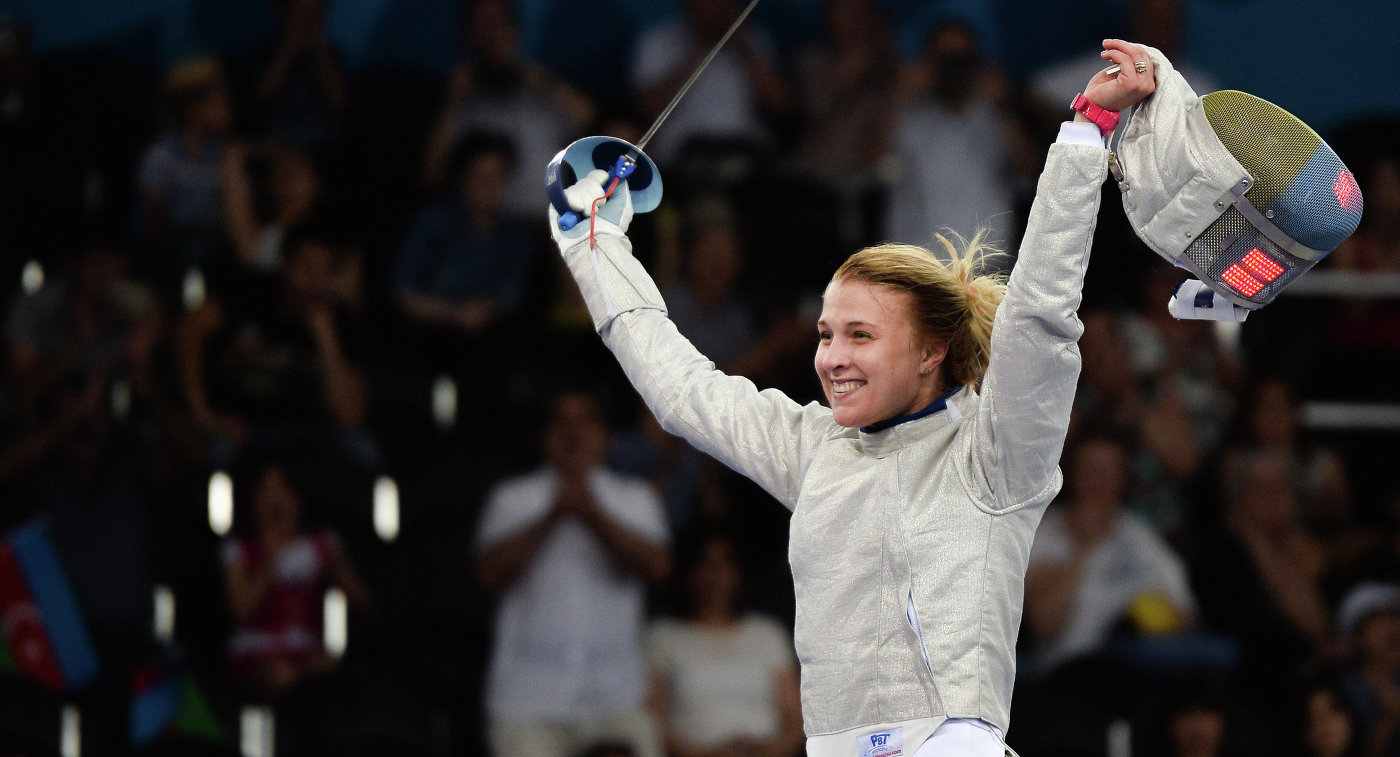 Ольга Харлан стала серебряной медалисткой