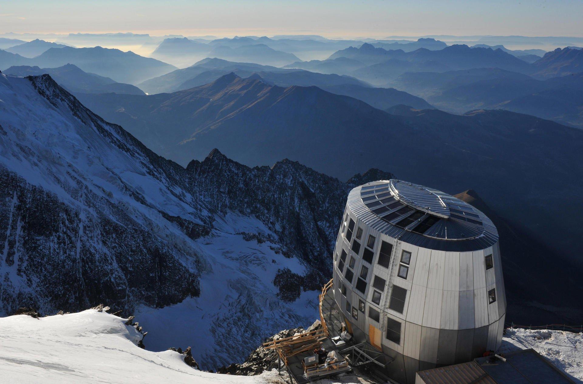 Refuge du Gouter — самый высокогорный отель Европы