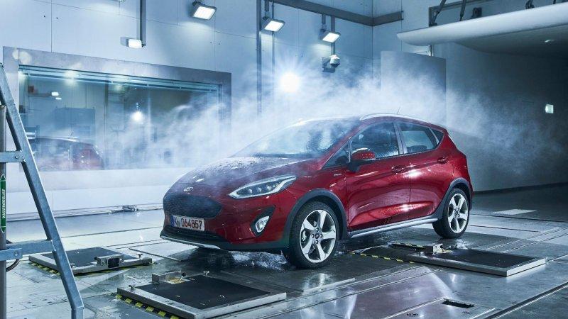 Не страшны ни дождь ни слякоть: компания Ford показала испытательный полигон для своих авто