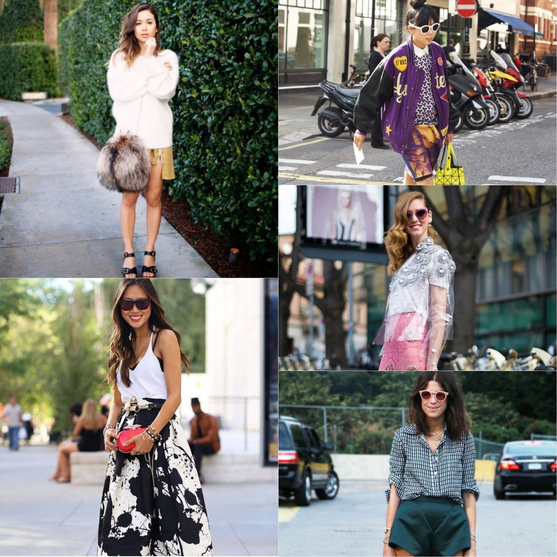 Самые яркие представители Personal style bloggers