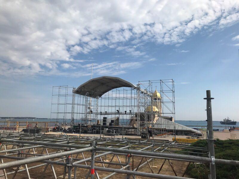 Одесский Морвокзал на все лето станет главной концертной площадкой Украины
