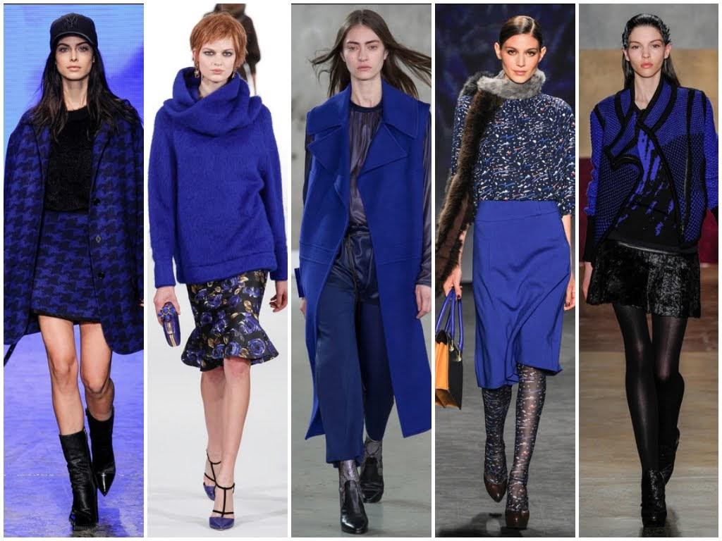 Цвет настроения синий: крутые сочетания модного оттенка