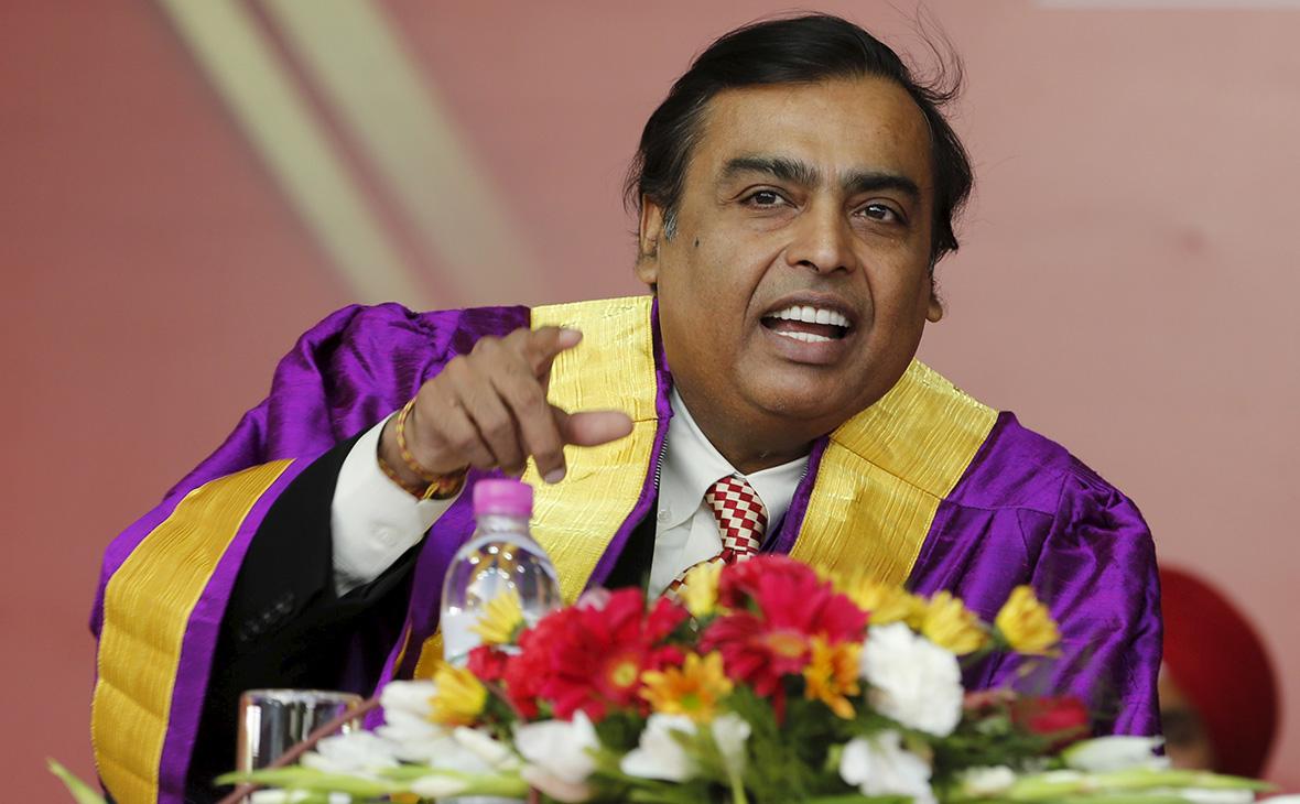Мукеш Амбани - владелец индийской компании Reliance Industries,