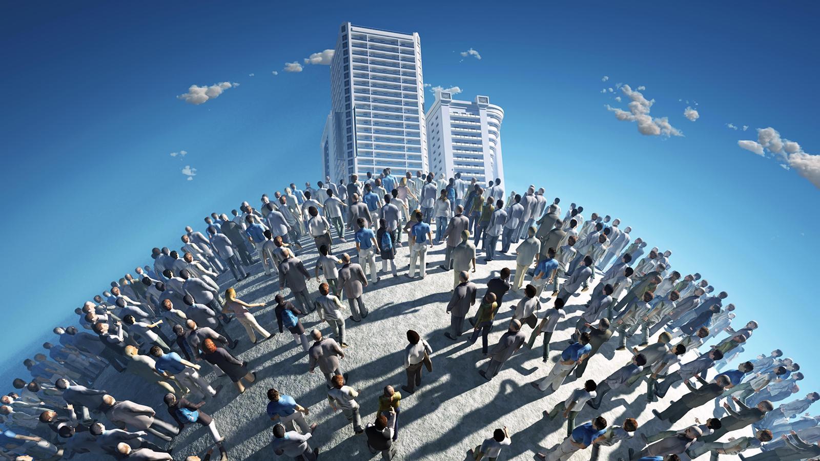 Население Земли растет стремительными темпами