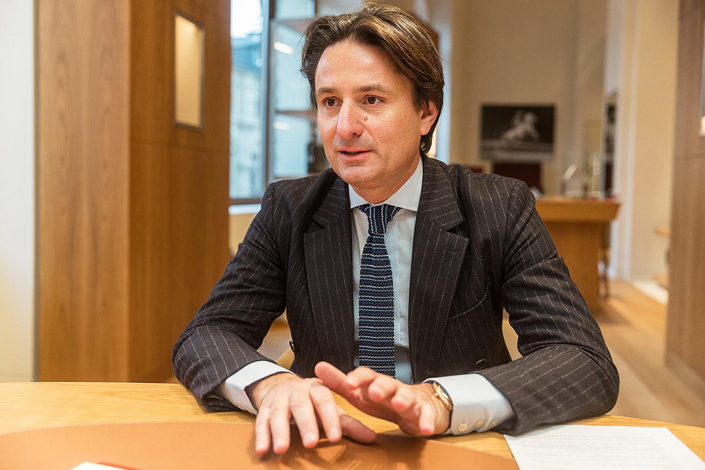 Аксель Дюма - главный исполнительный директор Hermès
