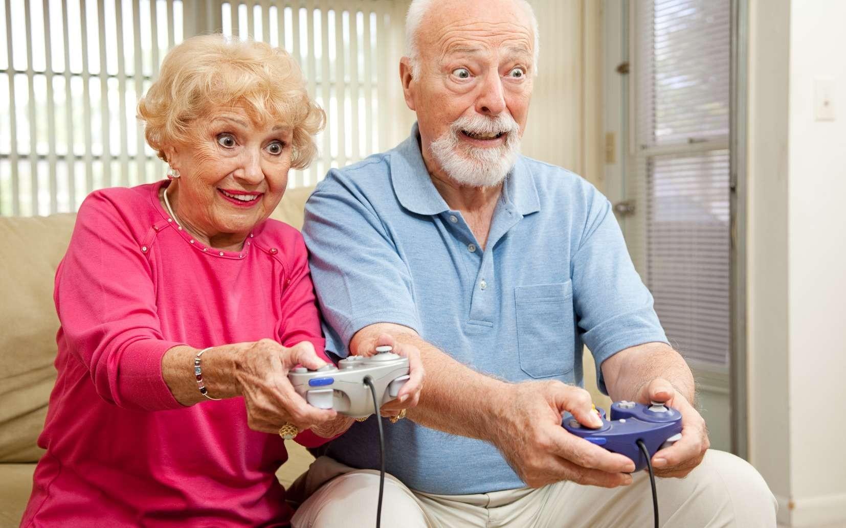 Ученые обнаружили пользу видеоигр для пожилых людей