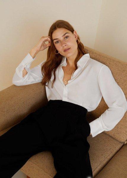 ТОП лучших белоснежных рубашек — на каждый день и на выход