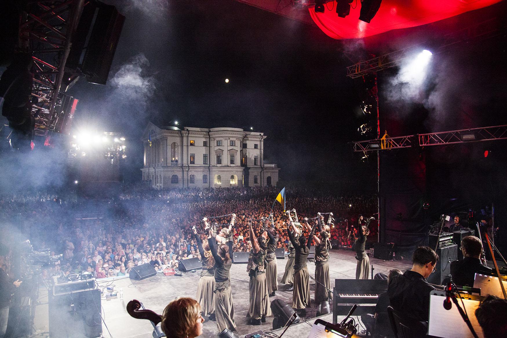 Более 10 000 зрителей собралось на фестивале Батурин. Ренесанс Незалежності