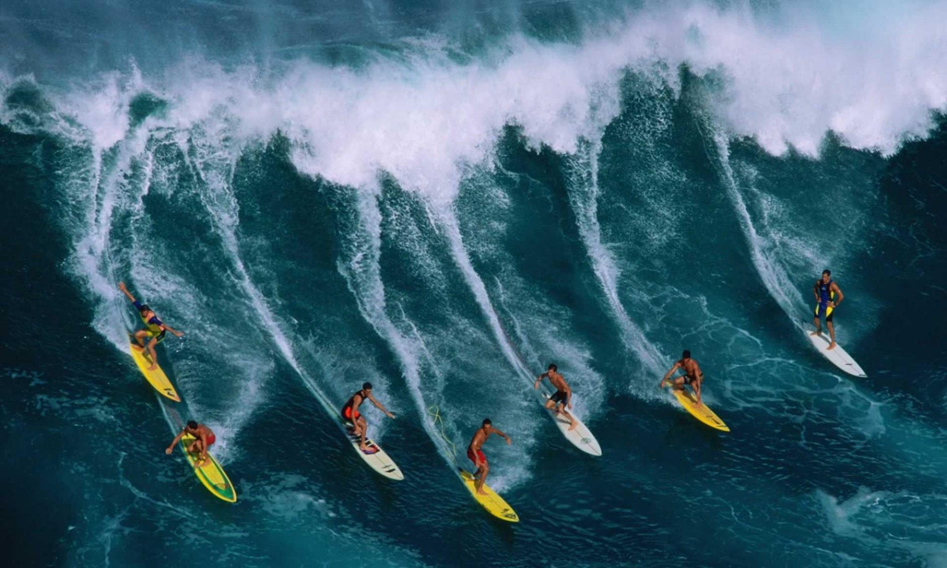 Рассекая волны: Стиль жизни - серфинг