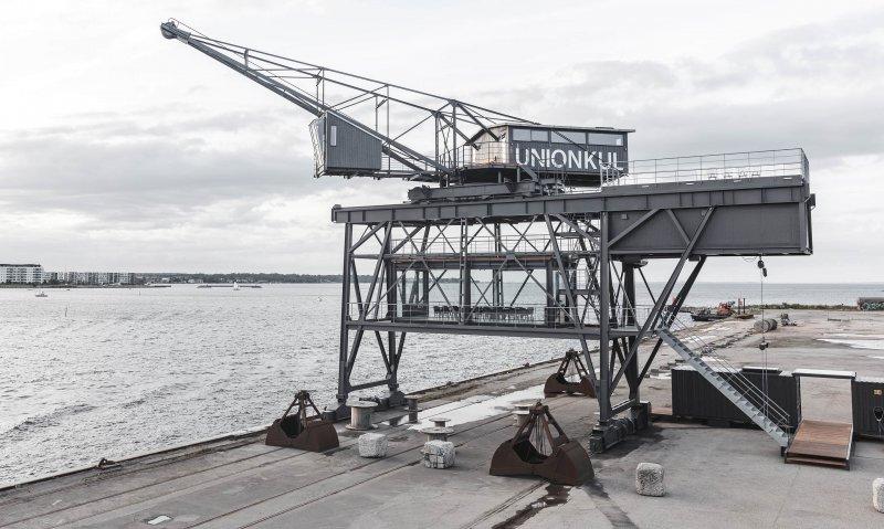 Отель The Krane — роскошное проживание в индустриальном порту Копенгагена