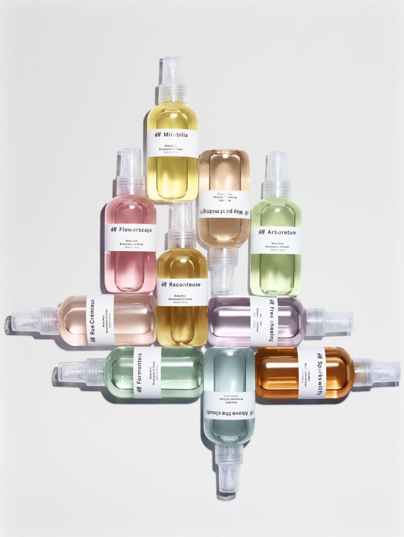 Известный бренд H&M представил собственную парфюмерную коллекцию