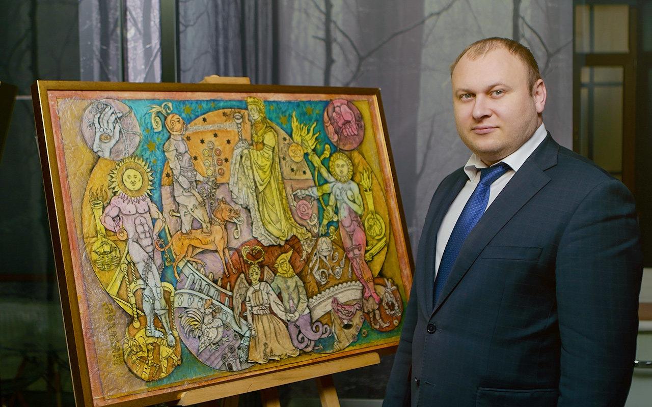 Богдан Троцько — досвідчений інвестор вивчає арт-ринок