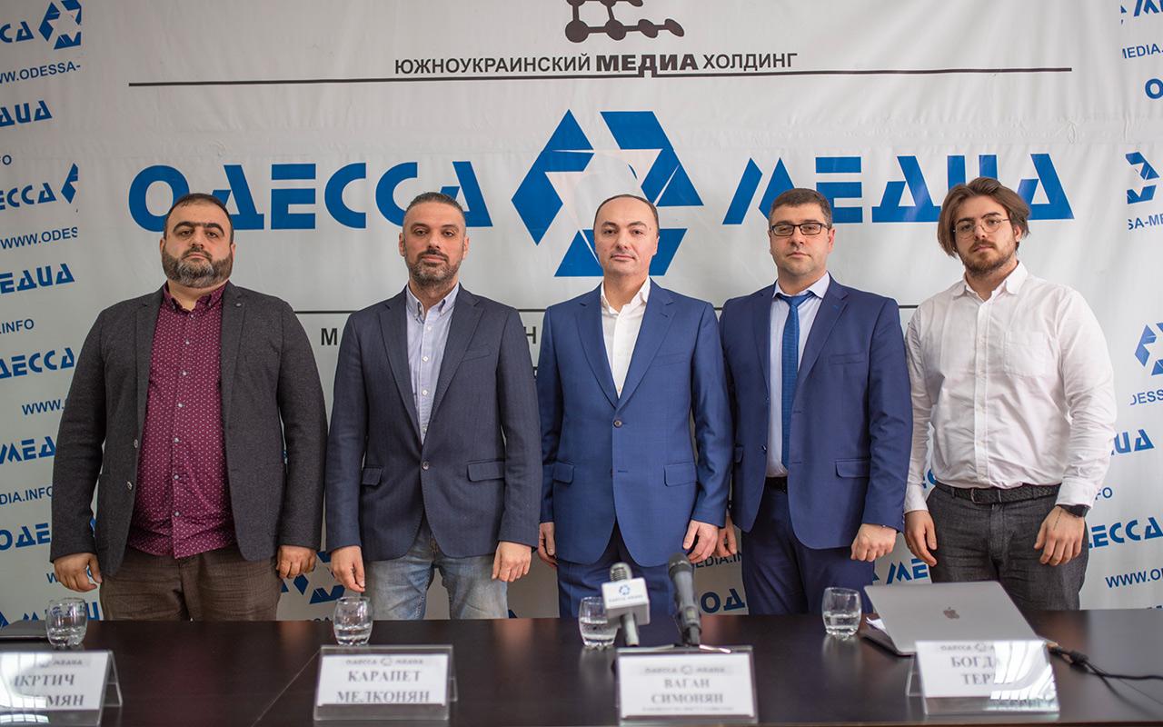 Ваган Симонян скликав прес-конференцію у відповідь на інформаційну атаку.