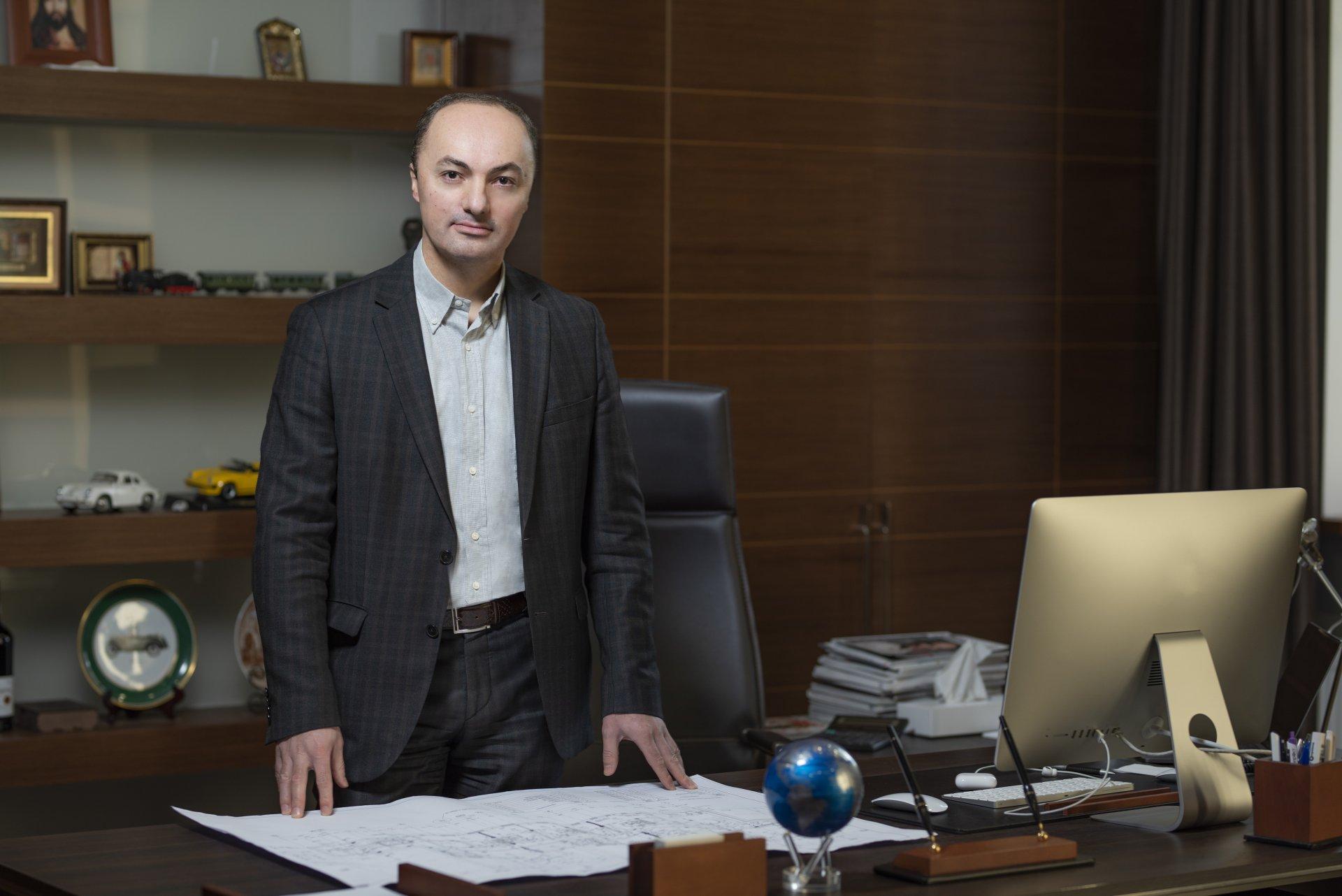 Ваган Симонян у своєму офісі м. Одеса