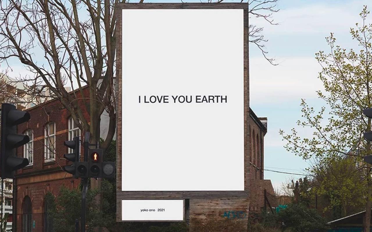 Йоко Оно зізналася в коханні до Землі