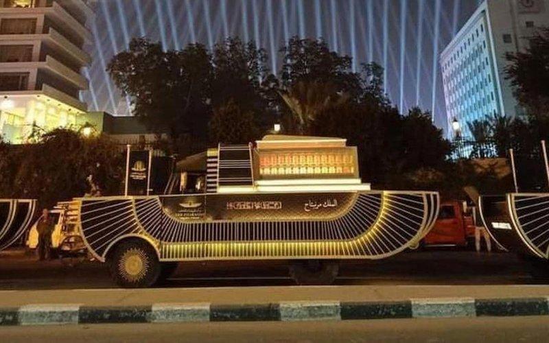 «Золотий парад фараонів» в Єгипті
