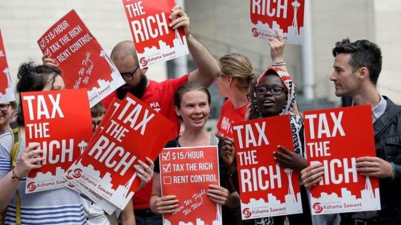 Американські мільйонери підтримують оподаткування багатих