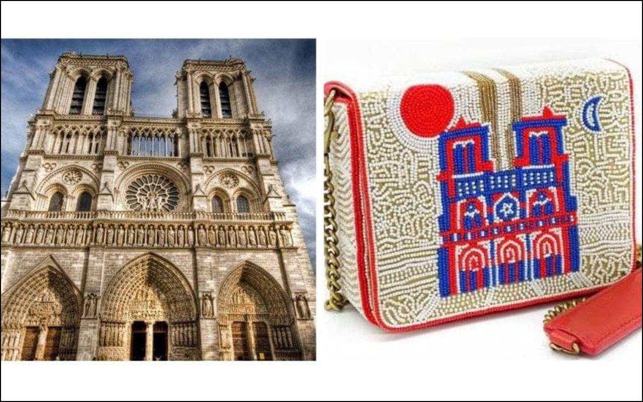 Колекцію аксесуарів представив Собор Паризької Богоматері