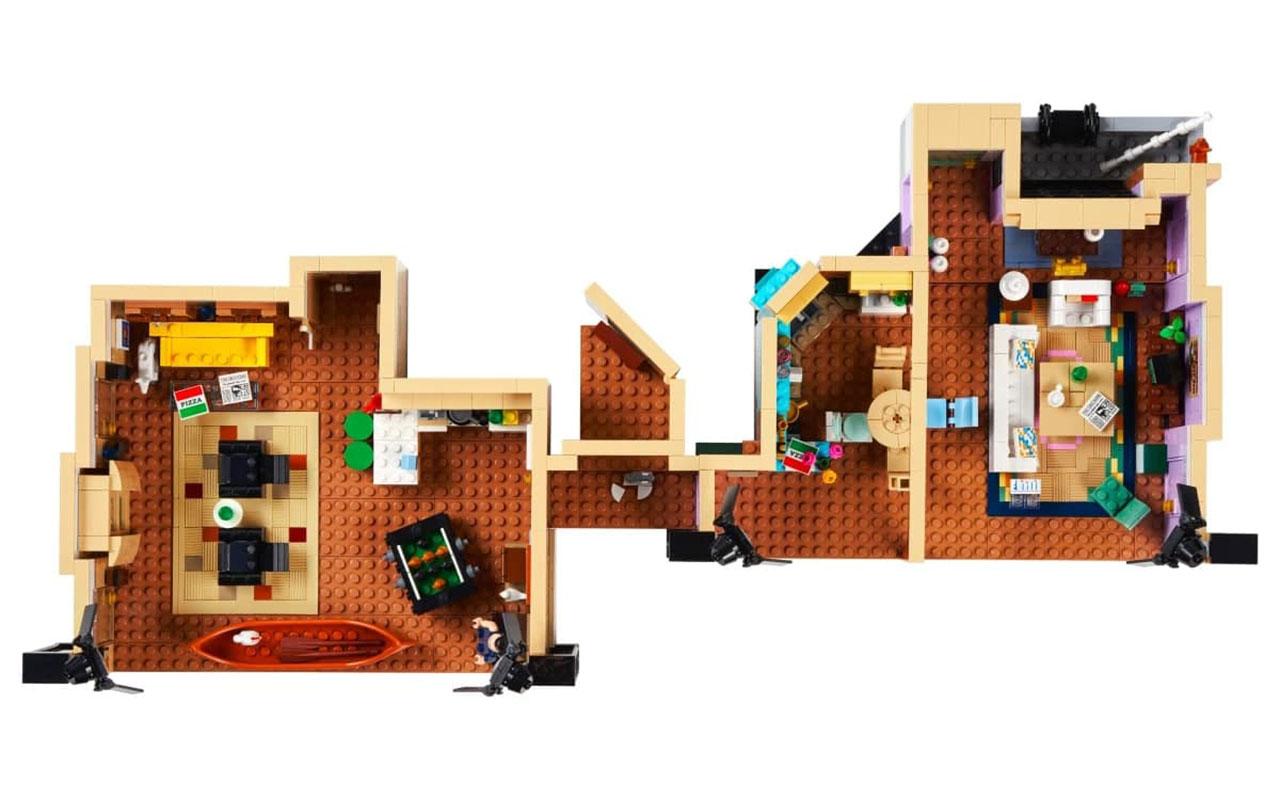 Lego випустить набори з серіалу «Друзі»