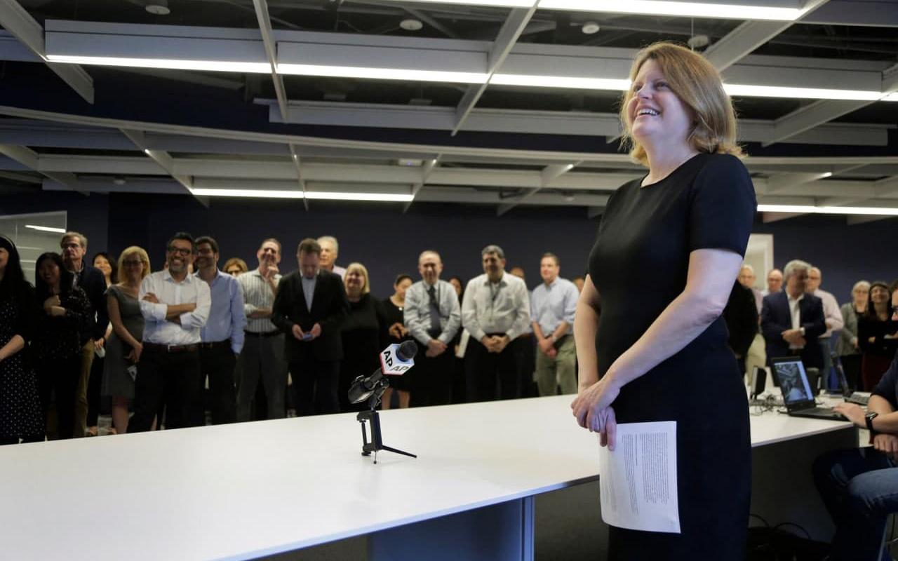 редактором Washington Post стала жінка