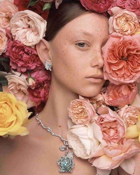 Dior присвятили колекцію трояндам