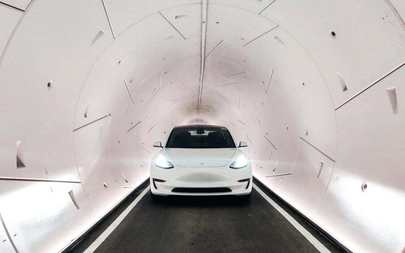 Ілон Маск запустив тунелі під Лас-Вегасом