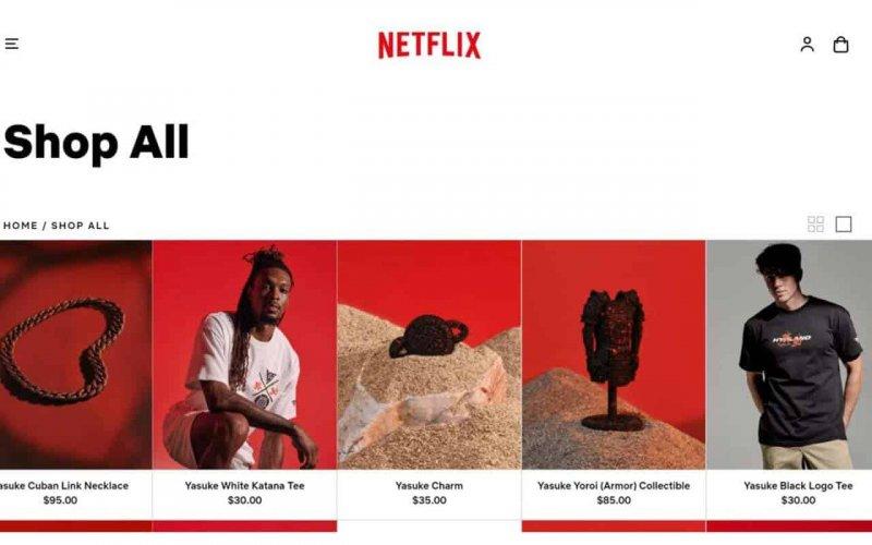 інтернет-магазин Netflix