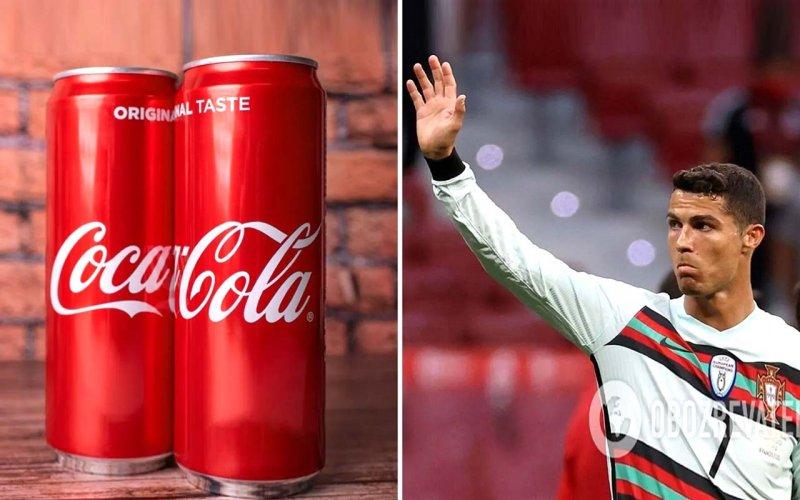 Роналду обвалив акції Coca-Cola